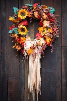 beautifal fall wreath