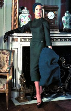 Pierre Balmain Town Dress <3 1958