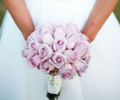 loooooove these! against navy blue bridesmaid dresses! Lilac Wedding, Spring Wedding, Wedding Bouquets, Wedding Flowers, Dream Wedding, Wedding Day, Lilac Bouquet, Lilac Roses, Navy Blue Bridesmaid Dresses
