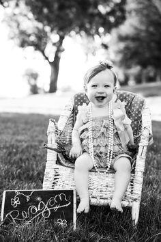 Baby photos taken at Salem Pond, UT.