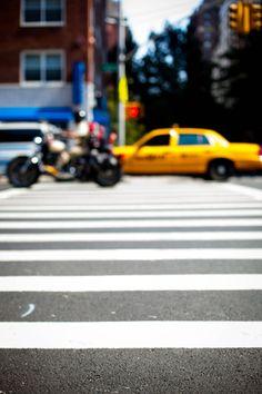 NYC LOVES PINK crosswalk.