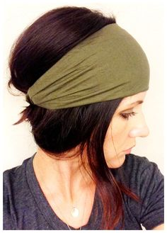 Army Green Wrap OR Turban, FABRIC WRAPS - Buy 3, Get 1 Free on Etsy, $14.33 CAD
