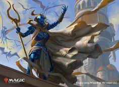 The second card got spoiled for this expansion, i hope you'll like it! High Fantasy, Dark Fantasy Art, Medieval Fantasy, Fantasy Artwork, Mtg Art, Skeleton Art, Creature Concept, Fantasy Warrior, Magic The Gathering
