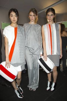 Sportmax Spring 2013 #stripes