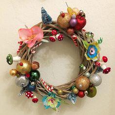 My stuff/ DIY - christmas wreath - christmas - julekrans - skidtogkanel - kirstinekirk - wreath - decor - dekoration
