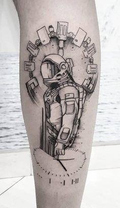 Tatuagem interstellar: Interestellar tattoo; Movie tattoo