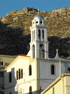 Greek Island church 3