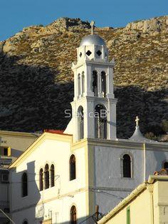 Greek Island church 3
