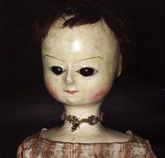 antique english wooden doll