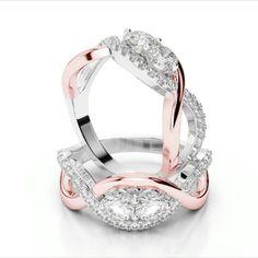 Bypass Two Stone Rings. Attention to detail is everything.  #Lovebands #platinumbands #Collection #Gift #Present #jewelry #Platinum #usa #love #diamonds #luxury #fashion #jewelrydesigner #instajewelry #jewelrygram #diamond #instafollow #customjewelry