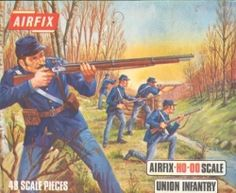 When I was a kid I was a avid collector of Airfix toy soldiers.