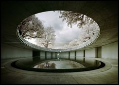 Tadao Ando -Naoshima Art Museum - The Third and animated 4 Tadao Ando, Earth Room, Futuristic Architecture, Architecture Design, Water Architecture, Chichu Art Museum, Naoshima Island, Back To Nature, Architecture Visualization