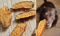 Faciles à réaliser, ces filets de patate douce sont des gâteries « santé » parfaites pour les toutous qui aiment mastiquer. Idéal pour les chiens gourmands qui ont tendance à dévorer leur repas rapidement!