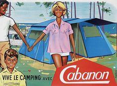Vive le camping avec Cabanon - 1960 - (Thibésart) -