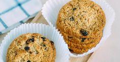 Recette de Cookies diététiques aux raisins secs et graines de chia. Facile et rapide à réaliser, goûteuse et diététique.