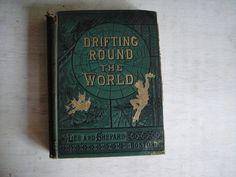 Treasures Of The Sea| Serafini Amelia| 1880 Novel - Drifting Around the World - By Captain C. Hall - Sea Exploration - Ocean Voyages