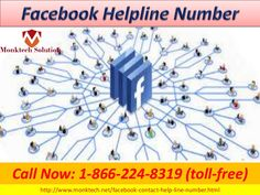 Facebook Helpline Number 1-866-224-8319 helps to report about a hacked account #FacebookHelp #FacebookHelpNumber If you already talked to a Facebook rep (or several), let us know if you were able to resolve your issue and how your experience was- it's how we customers push companies like Facebook to give better customer support. Here are some things that other customers said after calling 1-866-224-8319 and talking to a Facebook Helpline agent. For more details visit…
