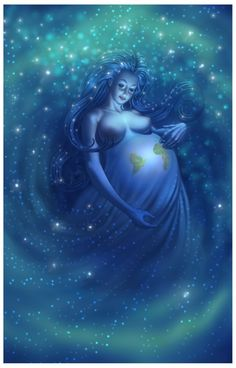 Gaia ~ The Great Mother ~ Mother Earth ~ Blessed Be The Mother.