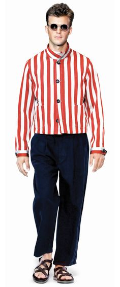 Men's Fashion - The Bold Stripe - Dior Homme