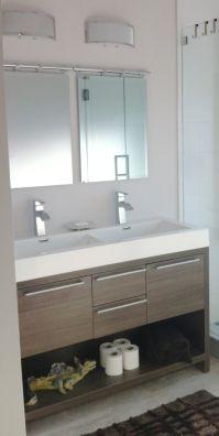 Elegant double vanity