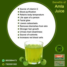 Natural Medical Properties of #amala helps you live #healthy  natural source of vitamin 'C' Solves constipation and other digestion problems Keep #Acidity at bay boost the #immunesystem #AmlaJuice helps in #detoxification of the #body Solves #hairfallproblem , brings natural shine to hairs and strength to the hair Good for #skin