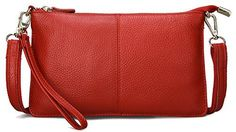 New Trending Shoulder Bags: SCIEN Clutch Purse Wallet with Wrist Strap Leather Crossbody Shoulder Bag for Women. SCIEN Clutch Purse Wallet with Wrist Strap Leather Crossbody Shoulder Bag for Women  Special Offer: $13.99  266 Reviews This leather clutch purse wallet is made of high-quality genuine leather. The leather feels more soft and skin-friendly. This is a basic multipurpose clutch bag for...