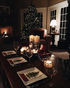 "thepreppyfoodie: ""Christmas tree decorating and dinner tradition Do you have any holiday traditions? """