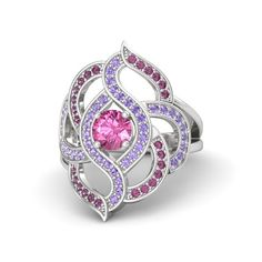 Friendship is Magic geekery... designing custom rings based on MLP characters. This one is Twilight Sparkle, of course.