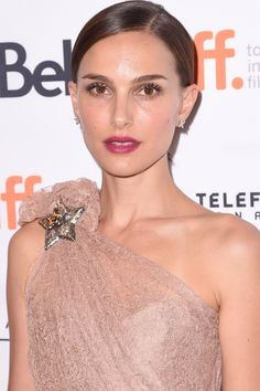 Hair Updos: The Easy-To-Copy Styles From The Red Carpet - Natalie Portman Keeps Her Look Sleek from InStyle.com