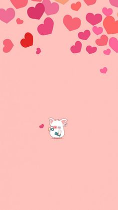 Little Pig with Hearts