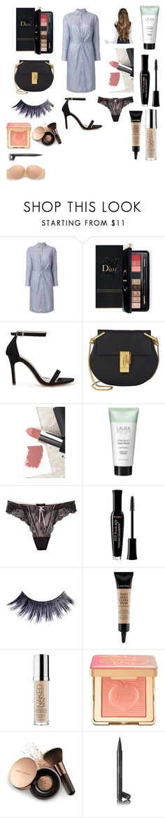 """""""Untitled #652"""" by ilovefashion55 ❤ liked on Polyvore featuring Vince, Estée Lauder, Chloé, Sigma, Laura Geller, Elle Macpherson Intimates, Bourjois, Manic Panic NYC, Lancôme and Urban Decay"""