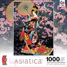 Ceaco Jigsaw Puzzle 1000 Piece Puzzles Asiatica Jigsaw Puzzles Art Collection…
