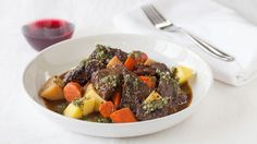 Epicure*s Paris Bistro Beef Ragout Epicure Recipes, Slow Cooker Recipes, Crockpot Meals, Paris Bistro, Beef Ragout, Classic Beef Stew, Menu, Beef Steak, Meat Lovers