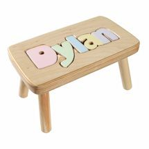 Personalized Children's Wooden Puzzle Stool - 9-12 Letters Name Puzzle, Personalized Gifts For Kids, Non Toxic Paint, Baby 1st Birthday, Wooden Puzzles, Novelty Gifts, Inspirational Gifts, Kid Names, Thoughtful Gifts