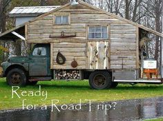 Would make an awesome ice shack