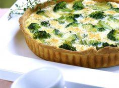Quiche met broccoli en zalm (Libelle Lekker!)
