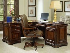Shop this hooker furniture brookhaven distressed medium cherry x rectangular l-shaped executive desk from our top selling Hooker Furniture office desks. LuxeDecor is your premier online showroom for home office furniture and high-end home decor.