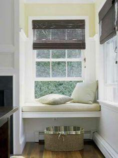 Sitzecke am Fenster - Offene Bauweise