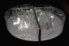 Interactive model of lower Manhattan by Pentagram  http://new.pentagram.com/2007/07/interactive-model-of-lower-man/