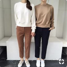 Trendy fashion casual outfits winter minimal chic Source by zerbird Looks Street Style, Looks Style, Korea Street Style, Minimal Chic, Minimal Fashion, Minimal Clothing, Minimal Outfit, Style Casual, Casual Chic