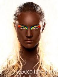 runway makeup Soyolaran traditional make up