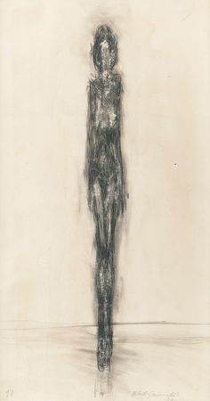 Alberto Giacometti, female nude drawing, 1946 on ArtStack Alberto Giacometti, Figure Painting, Figure Drawing, Painting & Drawing, Giacometti Paintings, Art Paintings, Art Sketches, Art Drawings, Antoine Bourdelle