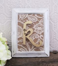 Bridal Shower Decorations Wooden Letters Rustic Chic Wedding Decor Personalized Shabby Chic  Gift Ideas