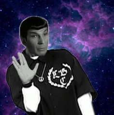 Happy Spock