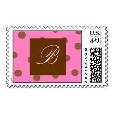 =>Sale on          Pink Brown Polka Dots Monogram Postage Stamp           Pink Brown Polka Dots Monogram Postage Stamp in each seller & make purchase online for cheap. Choose the best price and best promotion as you thing Secure Checkout you can trust Buy bestThis Deals          Pink Brown ...Cleck Hot Deals >>> http://www.zazzle.com/pink_brown_polka_dots_monogram_postage_stamp-172950828457556001?rf=238627982471231924&zbar=1&tc=terrest