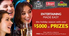 Win Over $5,000 in Prizes with Maple Leaf Foods