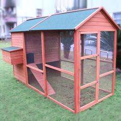 Walk In Chicken House the tavern backyard chicken coop hen house rabbit hutch wood small