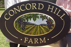 Concord Hill Farm Sign / Danthonia Designs