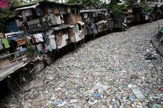 River of plastic