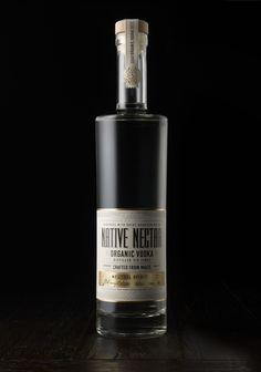 Native Nectar - Organic Vodka — The Dieline - Package Design Resource